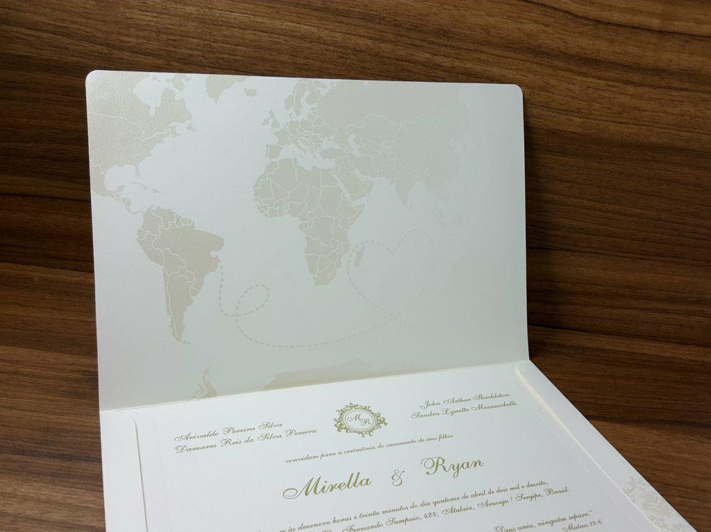 Convite de Casamento SP