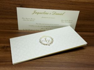 Convite para casamento interlagos